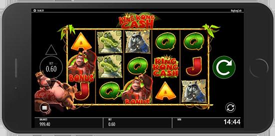 king kong cash mobile